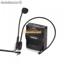 amplificatore vocale portatile con player mp3 usb 71666