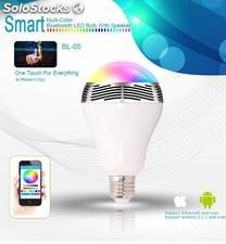 Ampolleta Y Parlante Smart Con Bluetooth