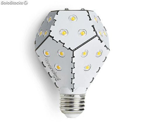Ampoule LED Nanoleaf Bloom -Dimmable avec un interrupteur simple - Blanche, 10