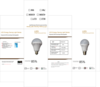 Ampoule led rechargeable / led emergency bulb - Photo 1