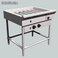 Anafe a gas base, para plancha - parrilla - AG300P00