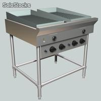 Anafe plancha y griddle a gas - AG300P12