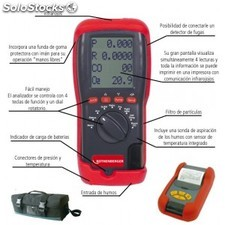 Analizador de combustión portatil Rotest de rothenberger R6162516