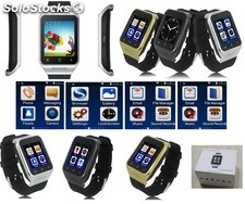 Android celular reloj phone watch bluetooth s8 mtk7572 wcdma 512mb 4gb bt camara