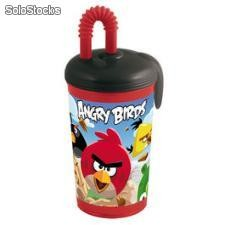 Angry birds canne de verre 450 ml