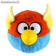 Angry birds space 12 inch blue & orange soft cuddly toy with sound