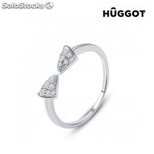 Anillo Ajustable de Plata Esterlina 925 con Zirconitas Egyptian Hûggot