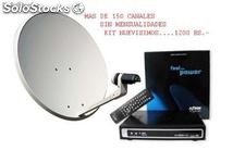 Antena kit satelital para tv/radio gratis azbox- azamerica