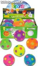 Anti stress football lumineux 6 assortis