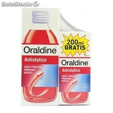 Antiseptico enjuague bucal 400ML mas 200ML oraldine