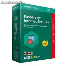Antivirus Hogar Kaspersky Internet Security 2018 KL1941S5AFS-8 1L/1A...