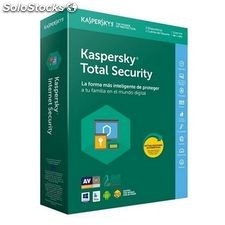 Antivirus Hogar Kaspersky Total Security 2018 KL1919S5CFS-8 3L/1A Multi-Device |