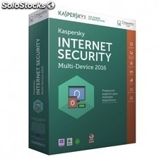 Antivirus KASPERSKY internet security multi device 2016 - 1 licencia - valido