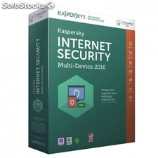 Antivirus kaspersky internet security multi device 2016 - 1 licencia - valido pc