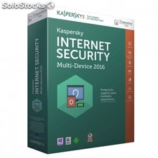 Antivirus kaspersky internet security multi device 2016 - 3 licencias - valido