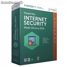 Antivirus kaspersky internet security multi device 2016 - 5 licencias - valido