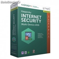 Antivirus kaspersky internet security multi device 2016 - renovacion 3 licencias