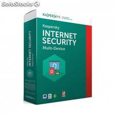 Antivirus kaspersky internet security multi device 2017 - 1 licencia / 1 año -