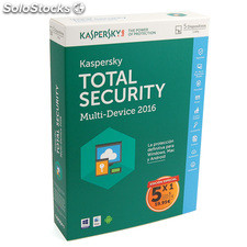 Antivirus Kaspersky Total Security 2016 5 usuarios KL1919SBEFS-6