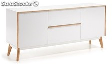 Aparador estilo nordico norway 160x40