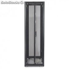 APC - NetShelter SX 42U 600mm Wide x 1070mm Deep Enclosure with Sides Black