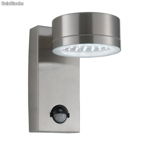 Aplique de led con sensor de movimiento exterior for Detector movimiento exterior