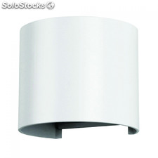 Aplique de Pared 6W Curvo blanco 3000K