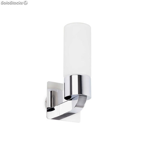Aplique de pared baño cromo Laos E14 40W IP44