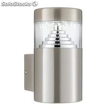 Aplique de pared exterior acero inox Jairo LED 1,8W 5000K 110Lm IP44