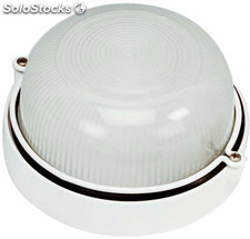 Aplique de pared exterior blanco Askot E27 100W IP44