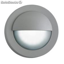 Aplique de pared exterior gris Blink LED 2,9W 5000K IP44