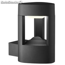 Aplique de pared exterior gris oscuro Look LED 5,2W 5000K IP54