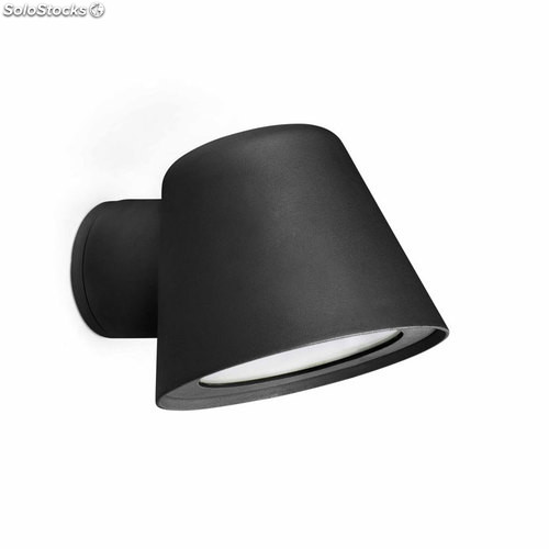 Aplique de pared exterior negro Gina GU10 35W IP44