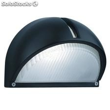Aplique de pared exterior negro Navy E27 60W IP44
