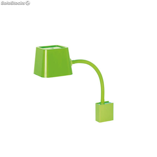 Aplique de pared flexible bajo consumo verde Flexi E27 15W