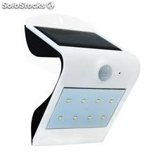 Aplique de pared led solar peel, blanco, Blanco frío