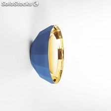Aplique interior Marset Scotch Club A 40 azul-oro