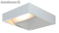 Aplique pared cuadrado blanco Remy LED 5W 3000K 340Lm