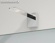 Aplique pared espejo baño cromo Tiel LED 3W 3000K 240Lm IP44