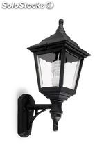 Aplique pared farol exterior blanco Clic-Clac 4 E27 60W IP44