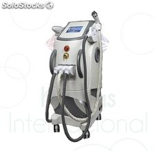 Appareil multifonction : radiofréquence bipolaire + IPL + Laser ND yag