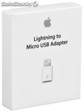 Apple Adaptador de conector Lightning a micro USB MD820ZM/A