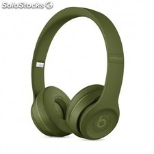 Apple - beats SOLO3 wireless on-ear cons headphones turf green in