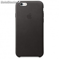 Apple - Funda Leather Case para el iPhone 6s - Negro