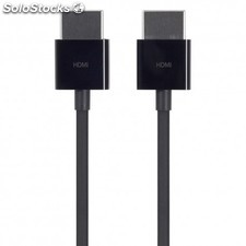 Apple - hdmi - hdmi, 1.8m 1.8m hdmi hdmi Negro cable hdmi