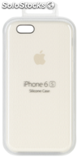 Apple iPhone 6s Carcasa de silicona blanco antiguo