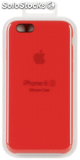 Apple iPhone 6s Carcasa de silicona rojo