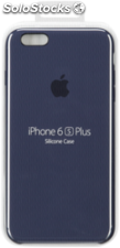 Apple iPhone 6s Plus Carcasa de silicona azul medianoche