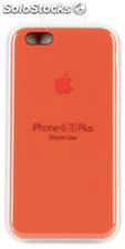 Apple iPhone 6s Plus Carcasa de silicona naranja