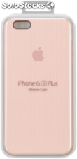 Apple iPhone 6s Plus carcasa de silicona rosa